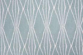 Robert Allen Drapery Fabric Robert Allen Handcut Shapes Printed Cotton Drapery Fabric In Rain