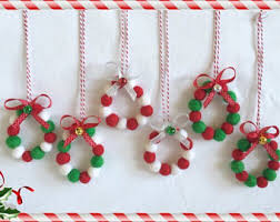 White Christmas Decorations Australia by Wool Felt Balls Etsy