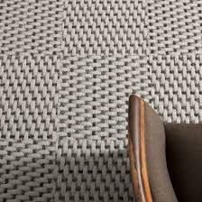 love the texture of these multi hued woven carpet tiles from flor