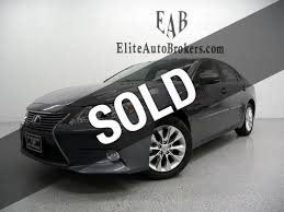 2014 lexus 2014 used lexus es 300h 4dr sedan hybrid at elite auto brokers