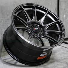 nissan 350z xxr 527 one 18x8 xxr 527 5x100 5x114 3 42 chromium black wheel rim