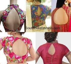 top 8 most trending blouse back neck designs for 2017 south india