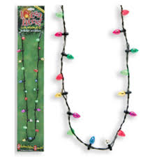 flashing christmas light necklace lotsa lites flashing christmas necklace goldfingers gifts