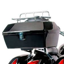 black honda motorcycle dmy black motorcycle trunk tail box luggage case top rack for