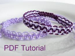 bracelet macrame patterns images Pdf tutorial alternating square knot macrame bracelet pattern jpg