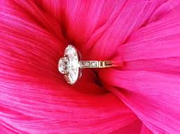 gold rose pattern 8319 gold and diamond ring catawiki