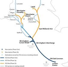 Sheffield England Map by What Do We Know About Hs2 Bbc News