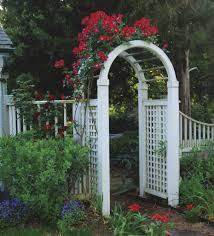 landscaping wooden trellis fence composite garden gates