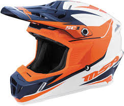 orange motocross helmet 109 95 msr youth sc1 phoenix motocross mx helmet 997971
