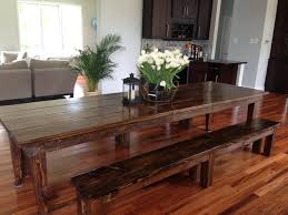 james and james tables james james 10 farmhouse table in dark walnut with tapered legs