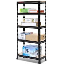 amazon com go2buy 5 tier storage rack heavy duty shelf steel