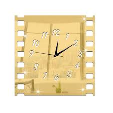 Decorative Wall Clocks For Living Room Online Get Cheap Square Wall Clock Aliexpress Com Alibaba Group
