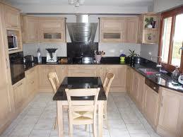 cuisine bois et inox cuisine bois et noir unique photos stunning en s design inox avec