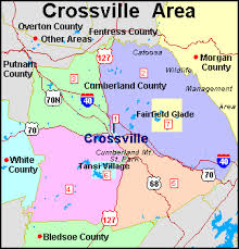 in crossville tn crossvilleonline maps of crossville tennessee