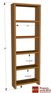 Basic Wood Bookshelf Plans by With A Minimum Of Tools And I Ve Been Looking For A Simple