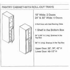 30 Wide Pantry Cabinet Pantry Cabinet Pantry Cabinet Espresso With Espresso Maple Tall