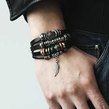 leather bracelet price images Boho leather bracelet 4bracelets for the price of one wayfame jpg