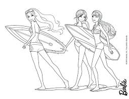 Barbie Ballerina Printable Coloring Pages Mermaid And Thaypiniphone Ballerina Printable Coloring Pages