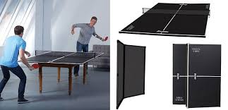 best table tennis conversion top franklin sports 60 table tennis conversion top 54092x black