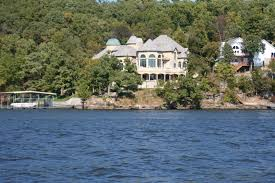 missouri house slide into the lake of the ozarks from the house it u0027s great to