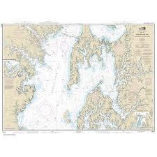 Chesapeake Bay Map Noaa Chart 12270 Chesapeake Bay Eastern Bay And South River