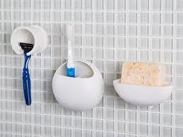 suction bathroom accessories by san ei