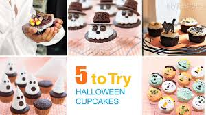 Mini Halloween Cakes by Mini Ghost Cupcakes Recipe Myrecipes