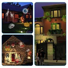 outdoor halloween projector tomshine halloween christmas easter led rotating projector light