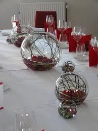 idee deco pour grand vase en verre décoration florale de table verre centre de table luxe
