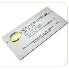 slim business cards uncoated foil slim business cards