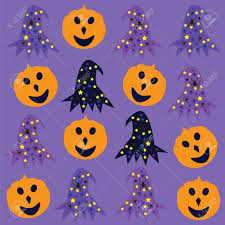 cute halloween pattern background halloween background cute vector illustration royalty free