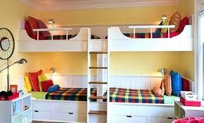 chambre avec lit superposé deco chambre mezzanine lit superposac bureau ikea deco chambre