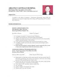 Sample Resume For Manual Testing Professional Of 2 Yr Experience by 9 Sample Resume For Manual Testing Professional Of 2 Yr