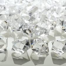Clear Vase Gems Acrylic Gem Stones Bulk Gem Stones Acrylic Gems Ice Rock Vase Gems