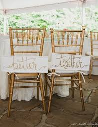 Bride And Groom Chair Signs Wedding Signs U0026 Decorations Partyinvitecards The Best