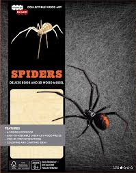 incredibuilds spiders deluxe book and model set book by insight
