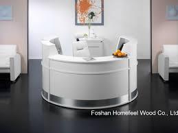 Reception Desk For Salon Popular Of Reception Desk China White High Gloss