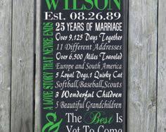 25 year anniversary gift ideas for personalized 5th 15th 25th 50th anniversary gift wedding engagement