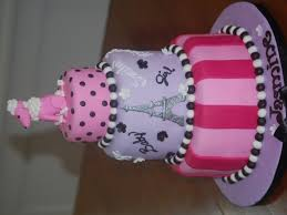 poodles in paris themed baby shower cakecentral com