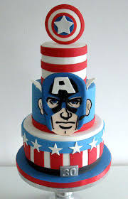 captain america cakes shields stuff american cake decorating