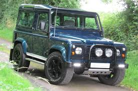land rover 1999 1999 land rover defender v8 overfinch 50th anniversary
