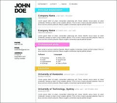 Simple Resume For College Student Free Resume Templates For College Students Resume Template And