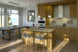 vancouver kitchen island realspace featured project covo by brody development