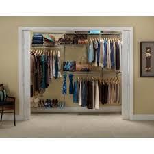 Closetmaid Systems Closetmaid Shelftrack 4 Ft To 6 Ft Closet Organizer Kit 2873