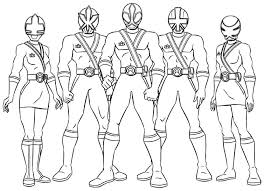 Power Rangers Coloring Pages Free Printable Vonsurroquen Me Power Ranger Jungle Fury Coloring Pages