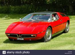 maserati bora red maserati bora 1970 sports car stock photo royalty free image