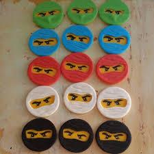 ninjago cake toppers ninjago inspired cupcake toppers