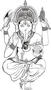 gaja hindu elephant coloring page google search coloring