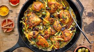 chicken tagine with rhubarb recipe nyt cooking