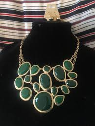 ladies necklace images Green gold ladies necklace set new jewelry accessories in jpg